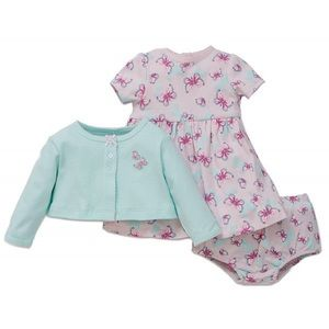 NWT Little Me dress set